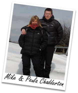 Mike and Paula Chadderton, Pinnacle Walking Holidays