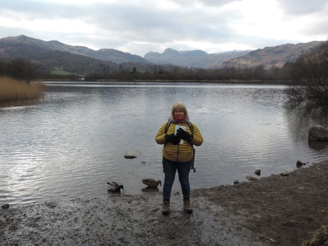 image: Polly on the Elterwater Round