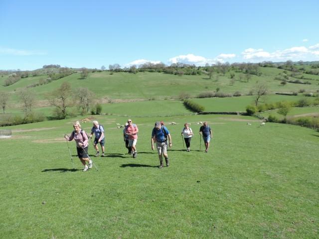 Image: heading towards Tissington