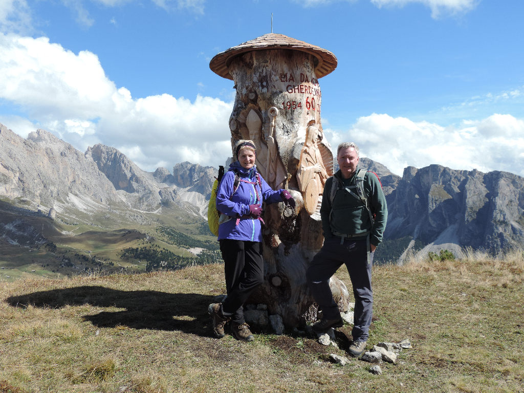 Image: The summit of Pic in the Dolomites