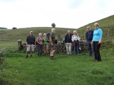 Image: October guests on a Peak District short walking break