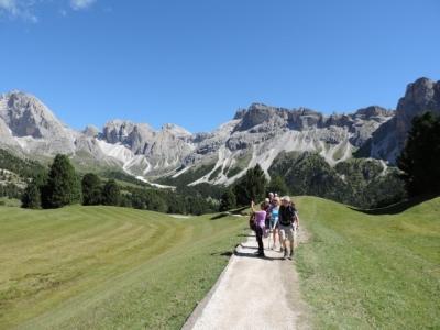 Image: Col Raiser on a Dolomites Walking Holiday