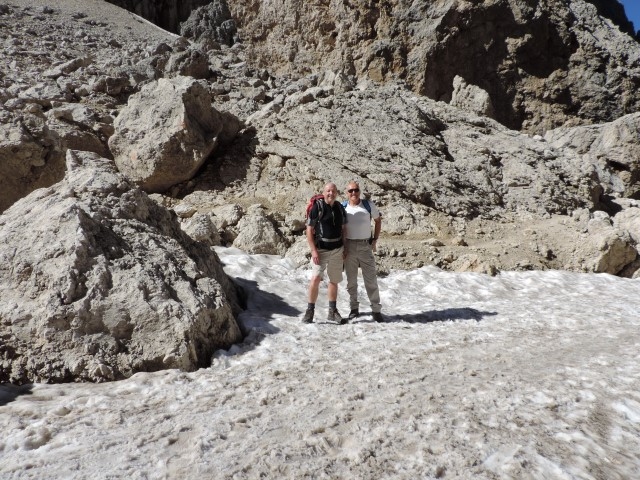 Image: Picture is taken near the Demetz Hut Dolomites