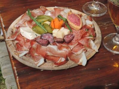 Image: wonderful food in Val Gardena Dolomites