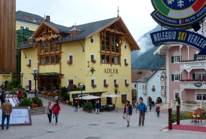 Image: Ortisei is the largest village in Val Gardena
