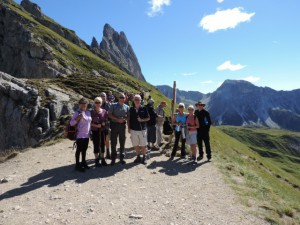 Dolomites Holiday 2013 Seceda