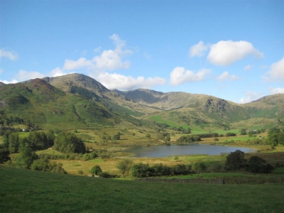 Image:  Little Langdale Tarn is near the Three Shires Inn the base for our Walking Holidays