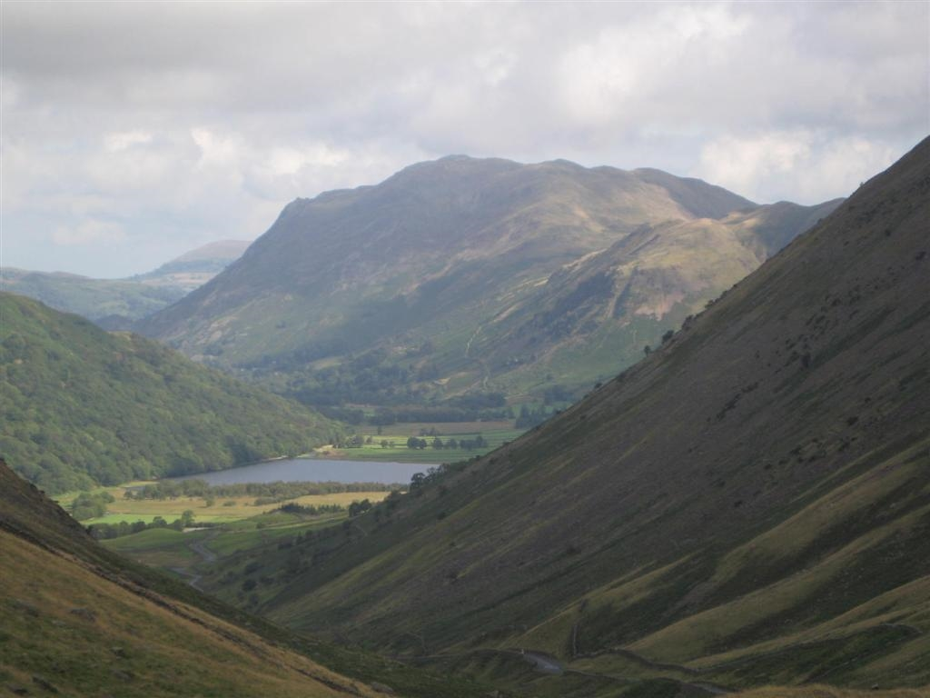 Image: Place Fell overlooks Ullswater in the Lake District