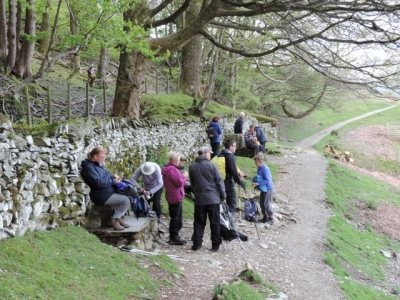 image: Walking along the Coffin Route on a short walking break in the Lake District