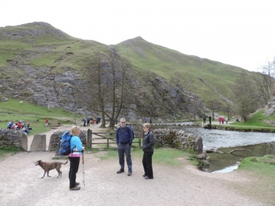 Image: Dovedale always popular with guests