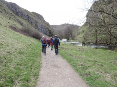 Image: Wolfscote Dale heading towards Milldale