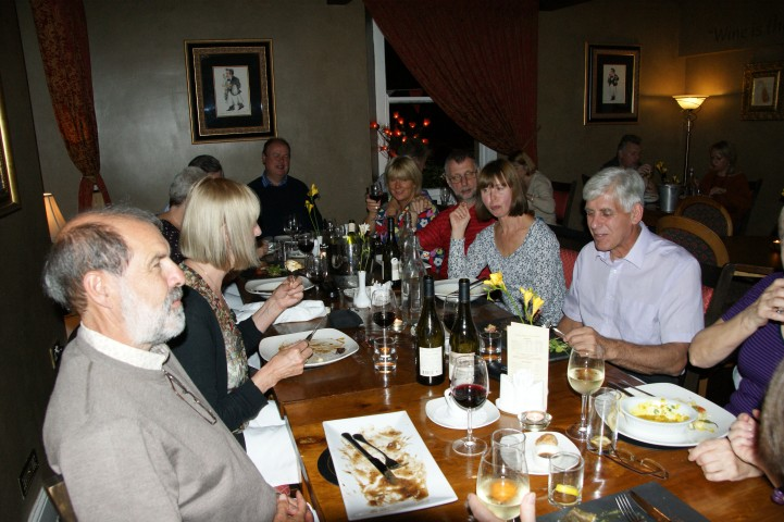 Image: Dinner is always a highlight on a Pinnacle Walking Holiday