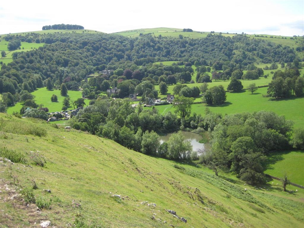 Image: view from Bunster Hill on a short break in the Peak District