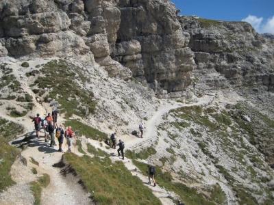 Image: Forcella De Ciampei Puez Odle Dolomites