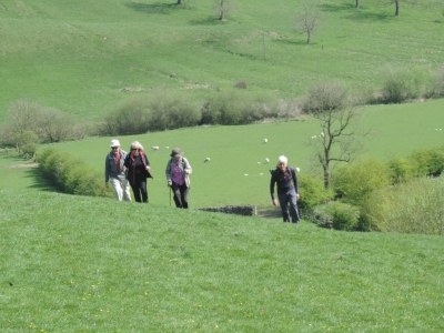 image: guests on the Limestone Way