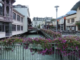 Chamonix is the base for our French Alps walking holidays