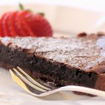 A Chocolate Torte is always a favourite on a Chalet Menu