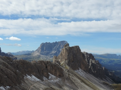 image: This picture was taken on a walk to the Puez Hut