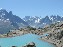 a popular walk on a summer holiday in the alps with pinnacle walking holidays