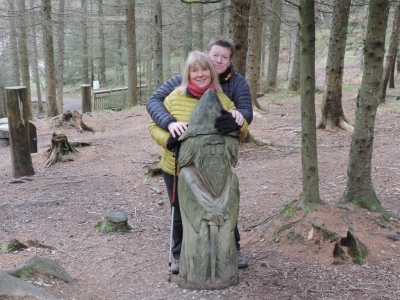 image: Enjoying a stroll in the Whinlatter Forest