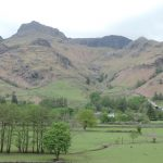 A fantastic walk in the Langdale Valley with views to the Langdale Pikes
