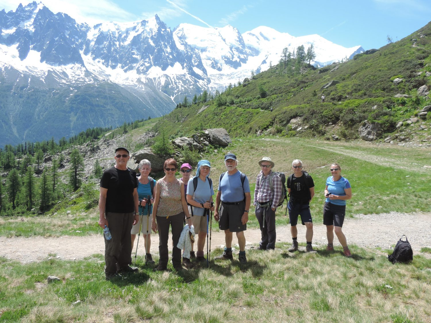 image: second week of pinnacle walking holidays guests