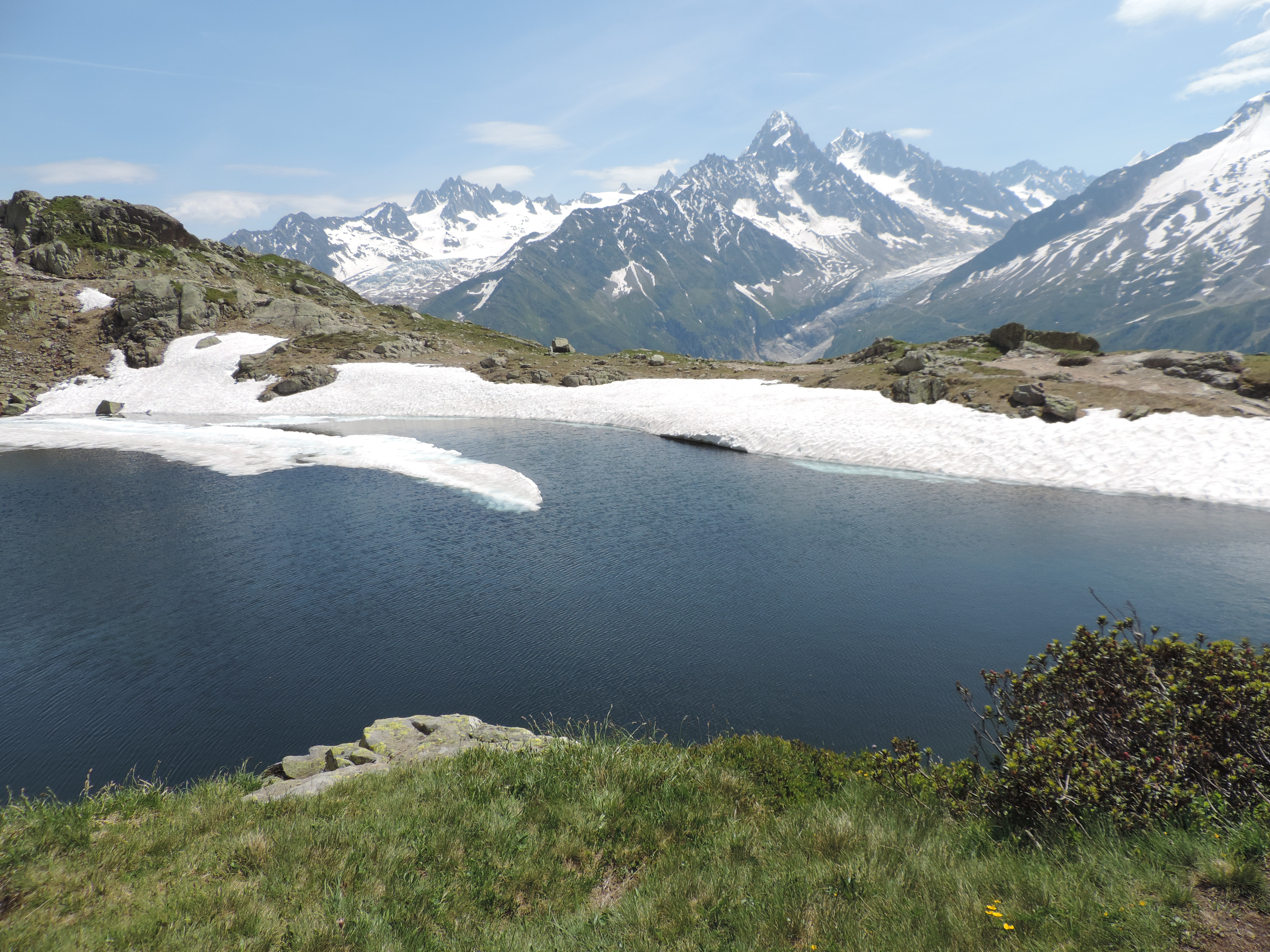 image: part of the lac blanc walk in the french alps