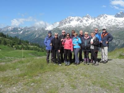 image: enjoying a french alps walking holiday