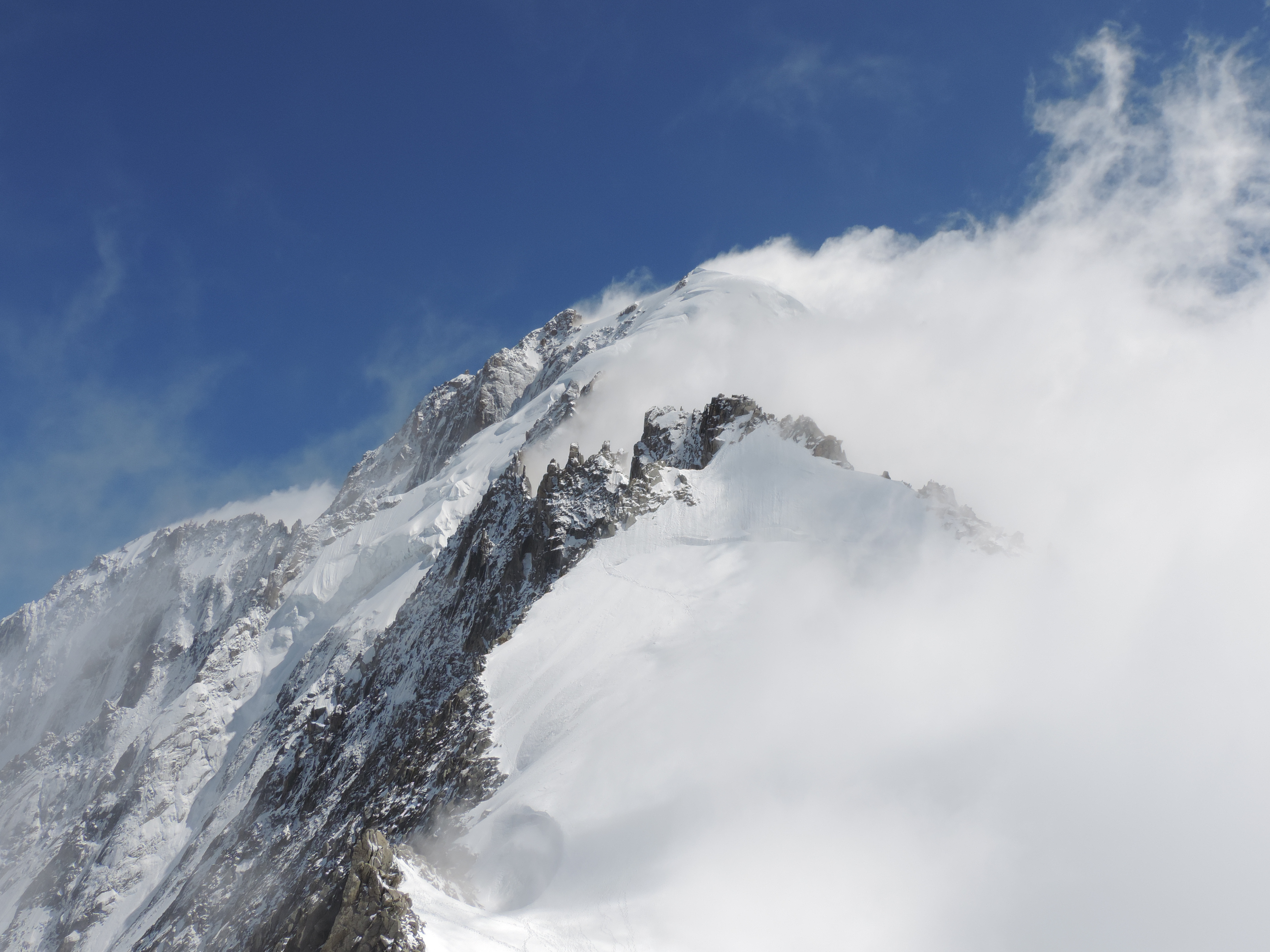 image: view from grands montets on a french alps walking holiday