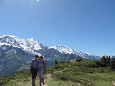 image: looking across to mont blanc