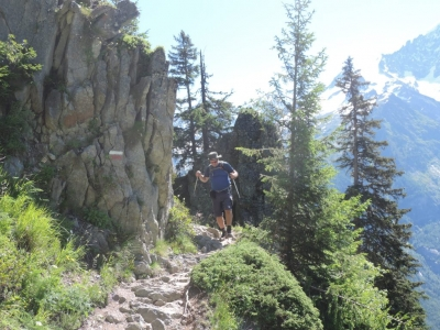 image: last week guests on a french alps walking holiday