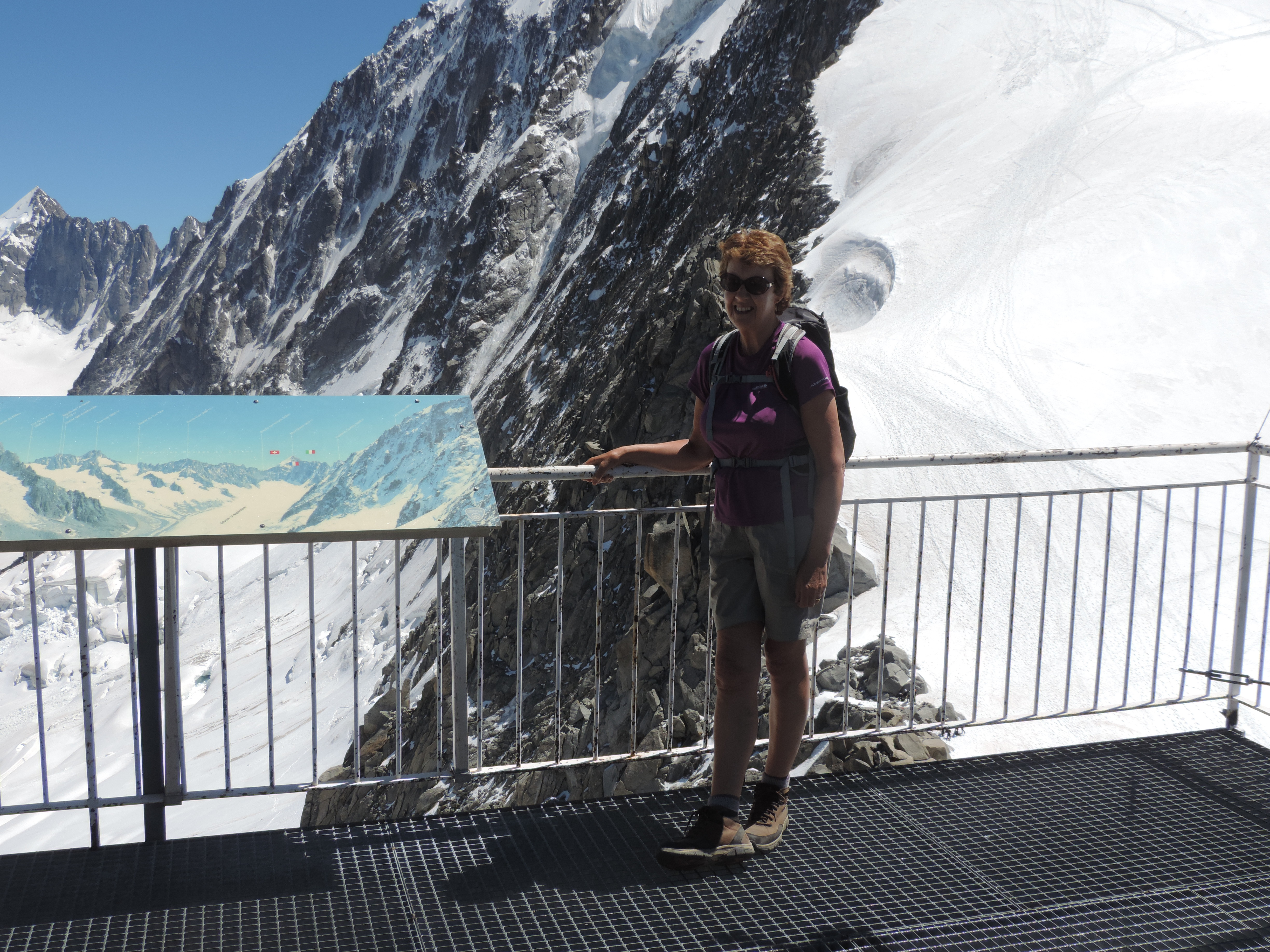 image: superb views from the grands montets