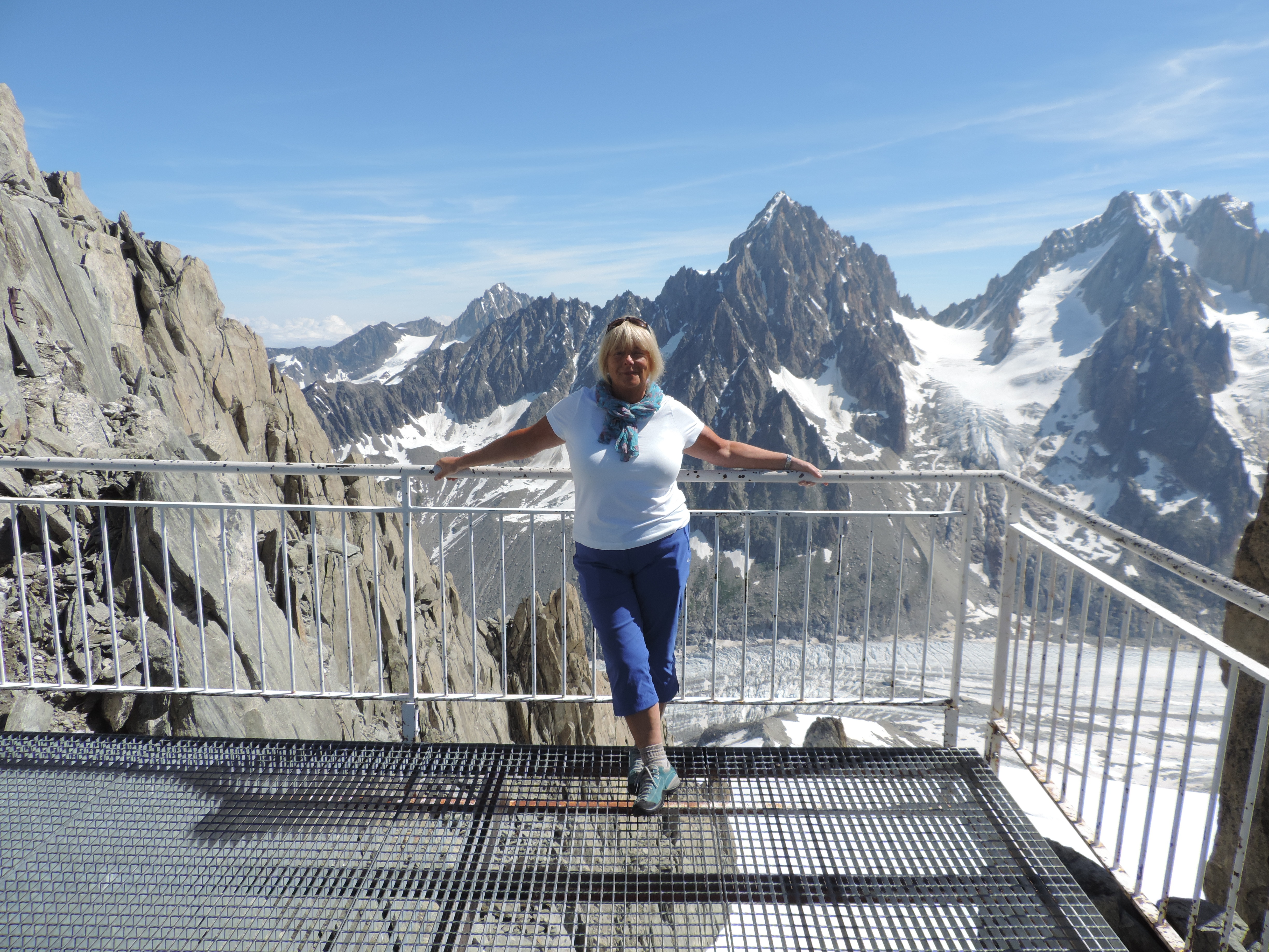 image: fantastic view point at grands montets