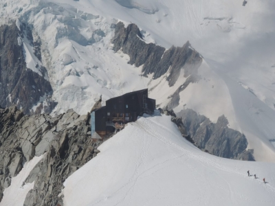 image: seen from the aiguille du midi