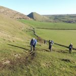 Thorpe Cloud a great place to go walking for fitness