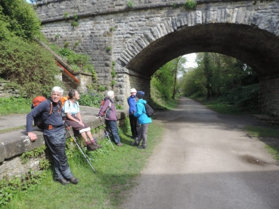 image: Monsal Trail is popular with walkers and cyclists