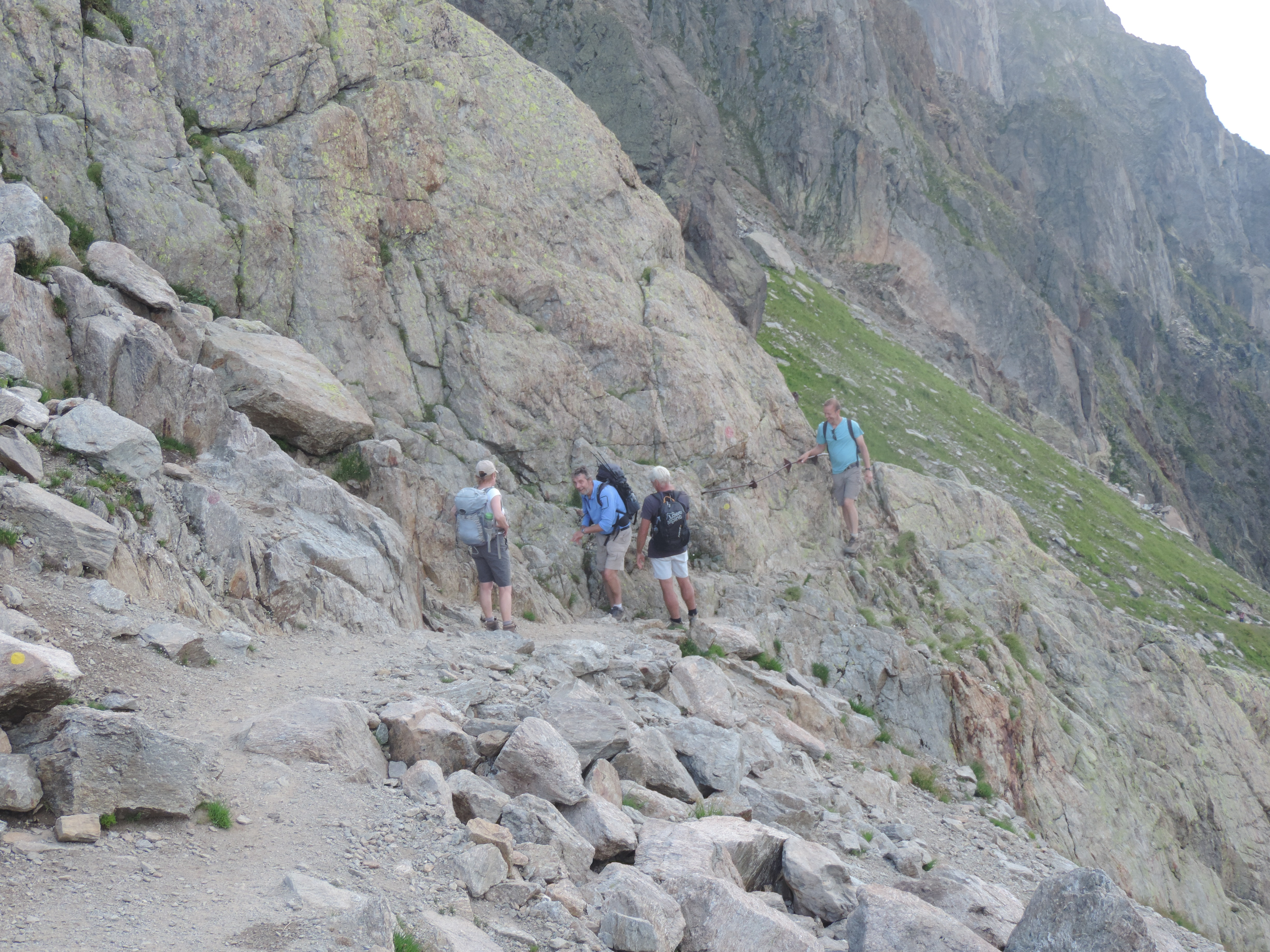 image: heading for Lac Cornu and Lac Noir