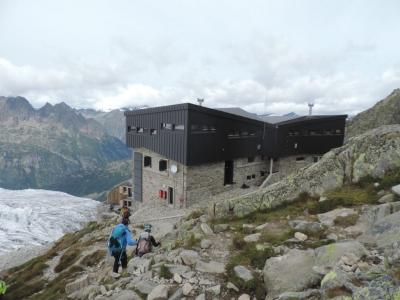 image: close to the La Tour glacier