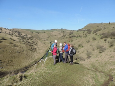 image: guests on a Peak District short break