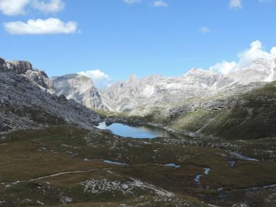 image: walking towards Puez Hut
