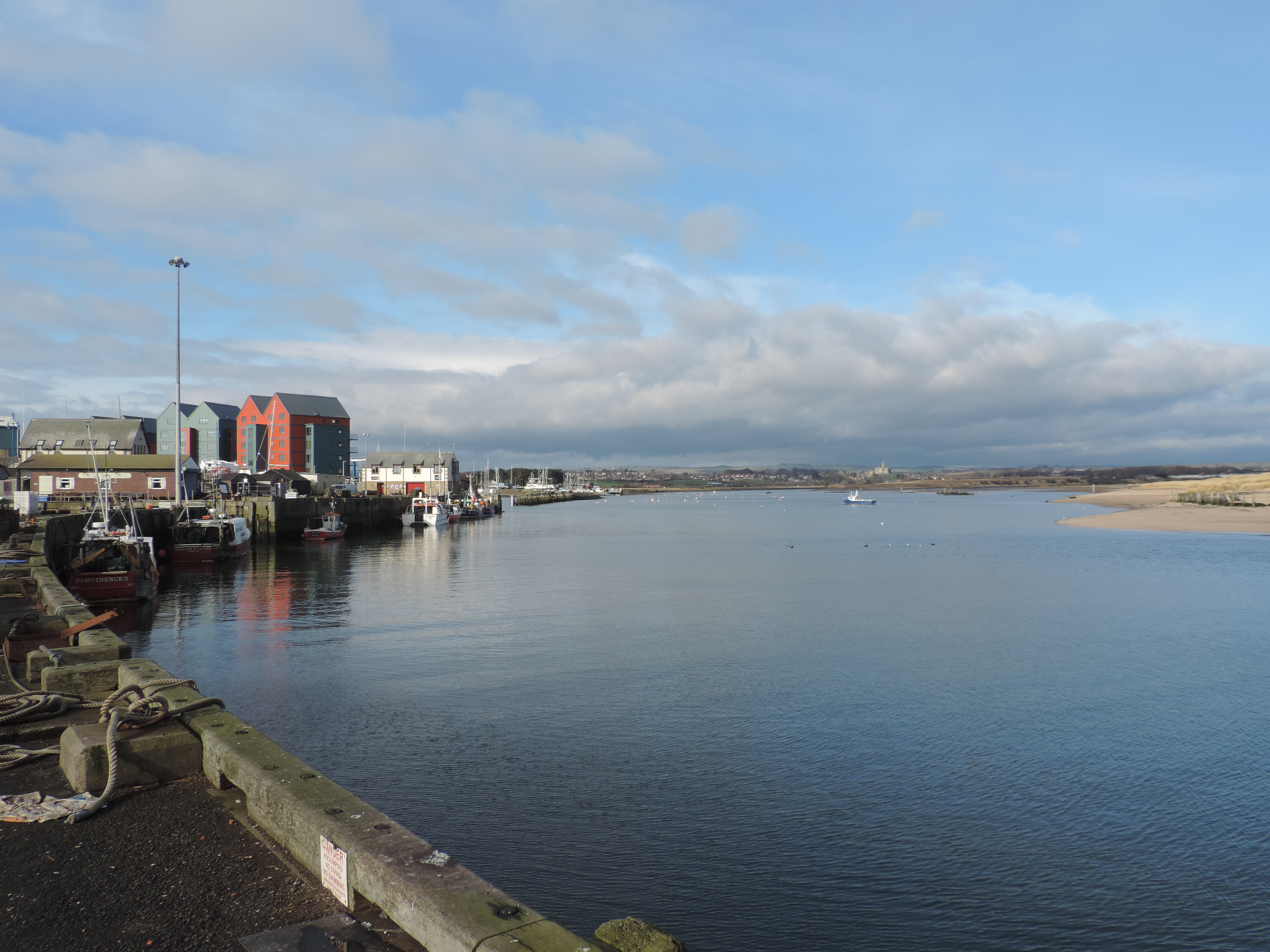 image: Amble Harbour
