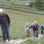 I used my first trekking poles in the lake district on part of the Coast to Coast walk