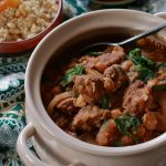Moroccan Lamb Tagine gives our meal time an exotic touch