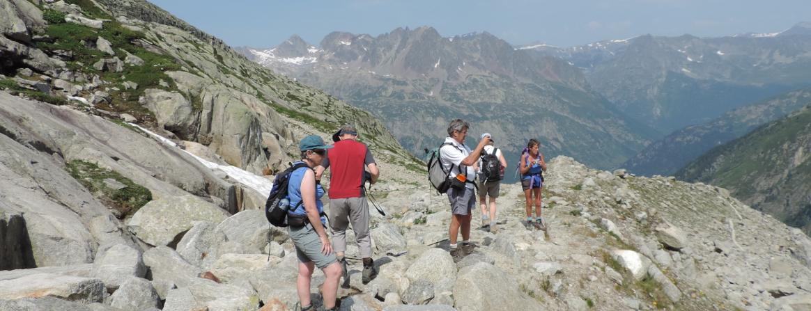 Chamonix Point of Vue Argentiere Glacier