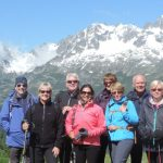 Prarion in Chamonix; time for a down jacket and great views of the French Alps