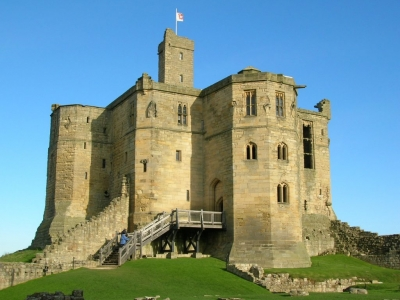 image: Warkworth Castle
