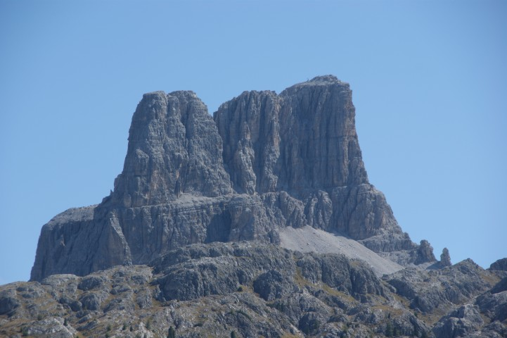 Averau in the Dolomites, home to Ozti the Iceman