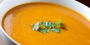Chalet Starters | Carrot Sweet Potato Soup