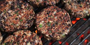 Chalet Veggie Mains | Cashew Nut Burgers
