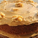 Coffee Walnut yohurt Cake Recipe